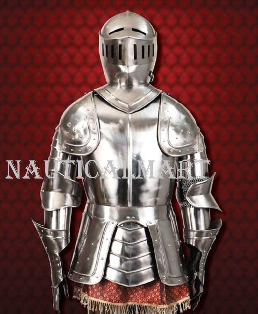 NauticalMart Medieval Knight LARP Reenactment Baltimore Mall Body of Suit Very popular Full
