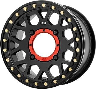 XD ATV XS235 GRENADE BEADLOCK Satin Black Wheel Chromium (hexavalent compounds) (14 x 7. inches /4 x 132 mm, 38 mm Offset)