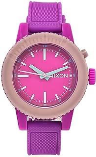 Nixon 882902545984 Reloj Analógico para Mujer, Redondo, Rosa