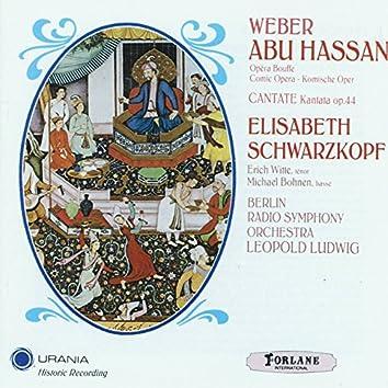 Carl Maria von Weber: Abu Hassan (Opera Bouffe - Comic Opera)