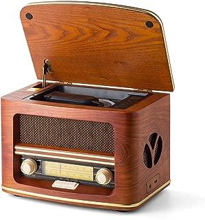 Bbl345dLlo R/éveil Radio-r/éveil Radio/£/¬ Color/é Veilleuse Cubique Mini Horloge de Table Lecteur MP3 Haut-Parleur Bluetooth USB
