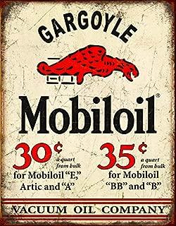 Desperate Enterprises Mobil Gargoyle Tin Sign, 12.5