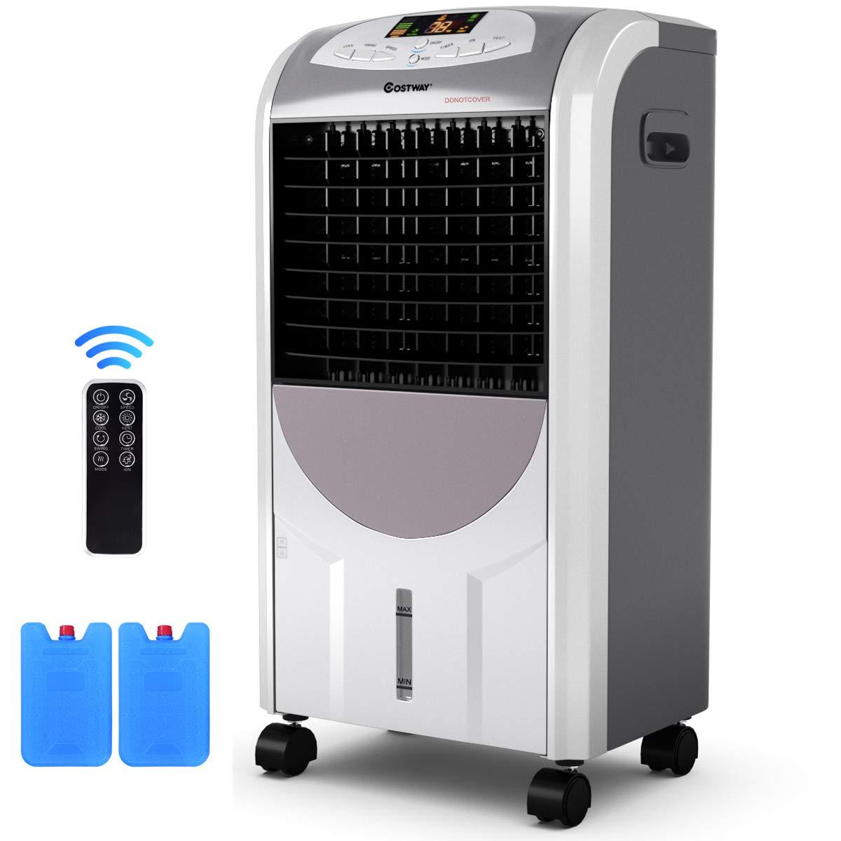 COSTWAY Compact Portable Conditioner Humidifier