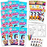 Disney T.O.T.S. Party Favor Set T.O.T.S. Party Supplies Bundle - 12 Pack T.O.T.S. Party Decor with T.O.T.S. Coloring Books, T.O.T.S. Stickers, and More (Disney T.O.T.S. Birthday Supplies)