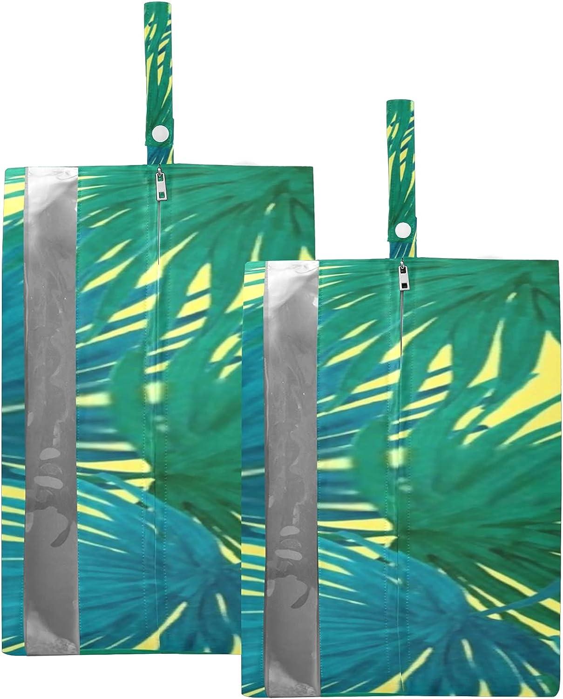Waterproof Travel Shoe Bag Trust Pack Leaves Flowers Tropical Creative Many popular brands
