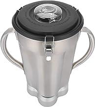 Acessório para liquidificador, recipiente para liquidificador, recipiente de substituição de aço inoxidável durável para f...