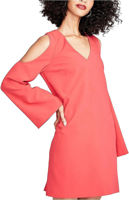 Rachel Rachel Roy Womens Cold Shoulder Mini Cocktail Dress