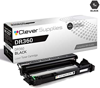 CS Compatible Drum Cartridge Replacement for Brother DR360 DR-360 Black MFC-7320 7345N 7345DN 7840N 7345 7440N 7840W HL-2120 2125 2140 2150N 2170W 2150 2170 DCP-7030 7040 7045N
