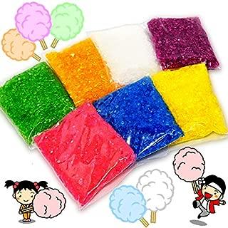 綿菓子用7色カラーザラメ【ざらめ / 粗目】7色各150g(合計1050g入)