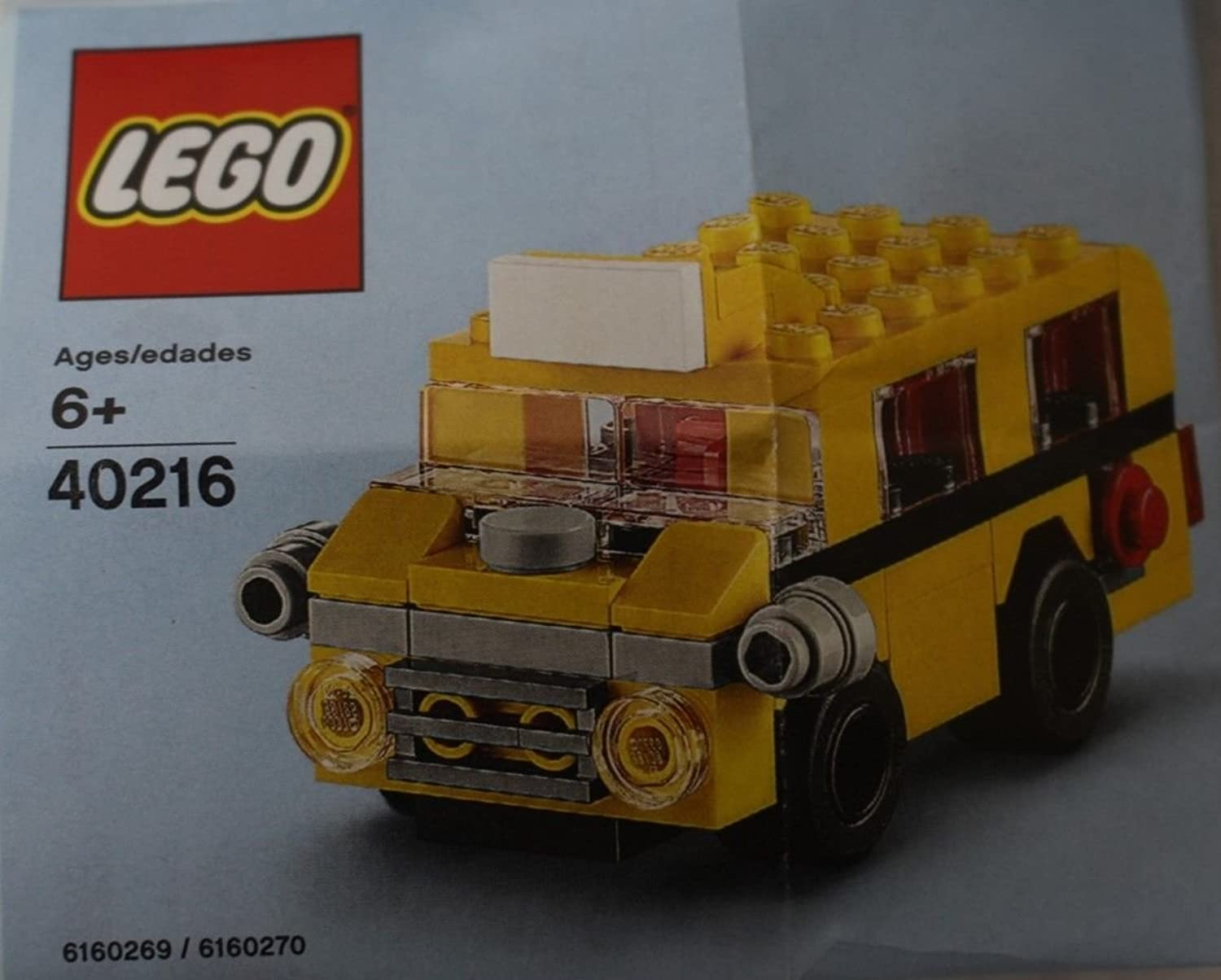 LEGO 40216 Sept 2016 School Bus Monthly Mini Build Polybag 65pcs by LEGO