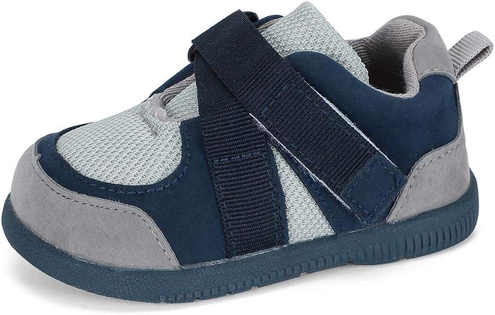 LACOFIA Zapatos Primeros Pasos bebé Infantil Zapatillas de Deporte Transpirables con Suela de Goma Antideslizante para bebé niños