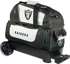 KR Strikeforce Bowling Bags Raiders 2 Ball Roller Bowling Bag, Multi