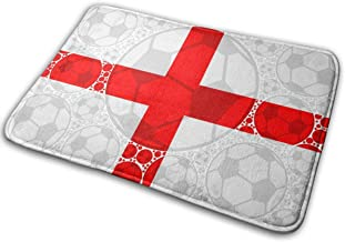 Door Mats England Soccer Balls Floor Mat Indoor Outdoor Entrance Bathroom Doormat Non Slip Washable Welcome Mats Decor 23....