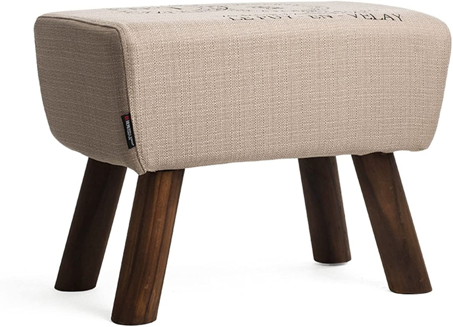 e7d2a5f9b719 Footstool-Small Stool shoes Wood Solid ZfgG Stool B) (color H40cm ...