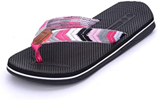 Women's Flip Flop   Casual Sandals   Summer Beach Slippers   Wet Water   Soft Breathable Non-Slip   Size 36-40 Havaiana