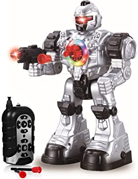 Play22 Remote Control Robot Toy - Robots for Kids Superb Fun Toy - Toy Robot Shoots Missiles Walks Talks & Dances wit...