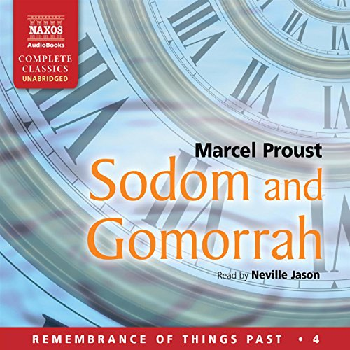 Sodom and Gomorrah audiobook cover art
