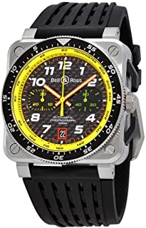 Bell and Ross - BR0394-RS19/SRB - Reloj cronógrafo para hombre