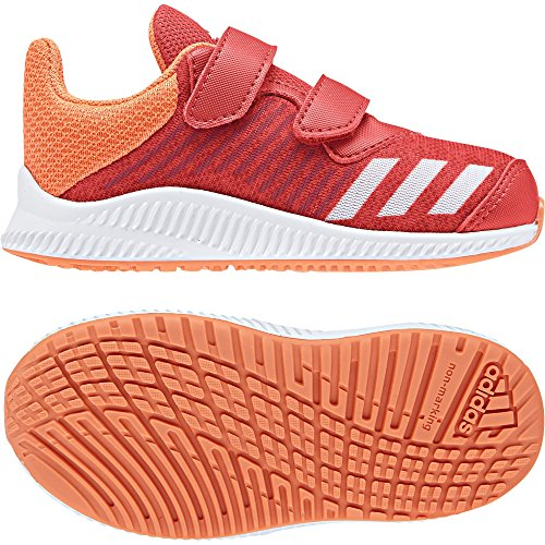 Adidas Fortarun CF I Slippers voor baby's, unisex, rood (Roalre/Ftwbla/Naalre 000), 22 EU
