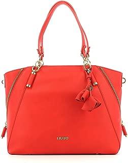 LIU JO NIAGARA SHOPPING BAG N18120E0037 81662 FLAME RED
