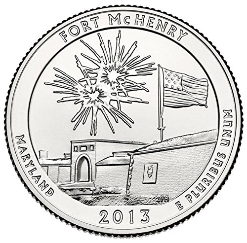 2013 D Fort McHenry National Park – D 40 Coin Bankroll Uncirculated