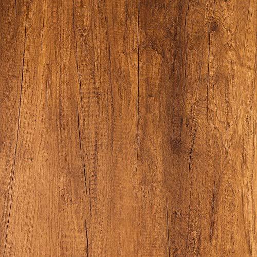Livelynine Klebefolie Möbel Rustikal Klebefolie Holzoptik Möbelfolie Holz Selbstklebend Folie für Möbel Küchenarbeitsplatte Tisch Schreibtisch Funier Arbeitsplatte Küche Küchenschrank Bekleben 40CMx2M