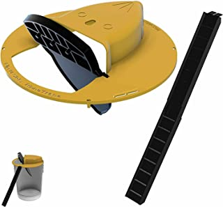RinneTraps - Flip N Slide Bucket Lid Mouse Trap |Humane or Lethal| |Trap Door Style| |Multi Catch |Auto Reset| |Indoor Out...