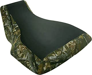 VPS Seat Cover Compatible With Yamaha Kodiak Big Bear 450 Seat Cover Black Color On Top Camo Design On Side Seat Cover