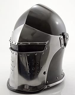 Medieval-Barbute-Helme-Armour-Helmet-Roman-knight-helmets-with-Inner-Liner