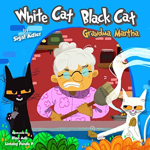 """『""""WHITE CAT BLACK CAT """": Teach your kid patience (Bedtime story (picture books) Preschool: Ages 3 5 Book 4) (English Edition)』のトップ画像"""