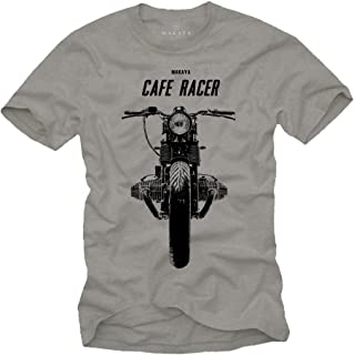 Vintage Cafe Racer T-Shirt - Boxer Twin