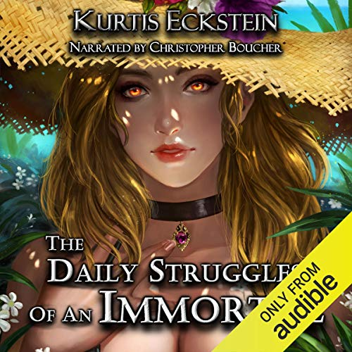 The Daily Struggles of an Immortal: A Superhero Adventure cover art