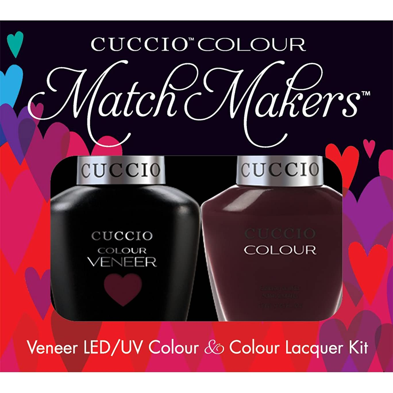 魔女ゲームシリングCuccio MatchMakers Veneer & Lacquer - Nights in Napoli - 0.43oz/13ml Each