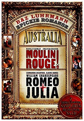 Buz Luhrmann Kolekcja: Australia / Moulin Rouge ! / Romeo i Julia [3DVD] (Keine deutsche Version)