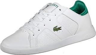 Lacoste Men's Novas 219 1 SMA Leather Trainers, White