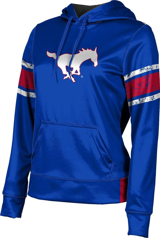 ProSphere Southern Methodist University Girls' Pullover Hoodie, School Spirit Sweatshirt (End Zone)