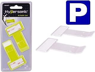 Hypersonic Car Windshield Parking Tickets Holder Transparent Auto Accessories Clip 2PCS