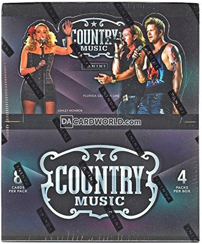 2015 Panini 'Country Music' Trading Card Box by Panini