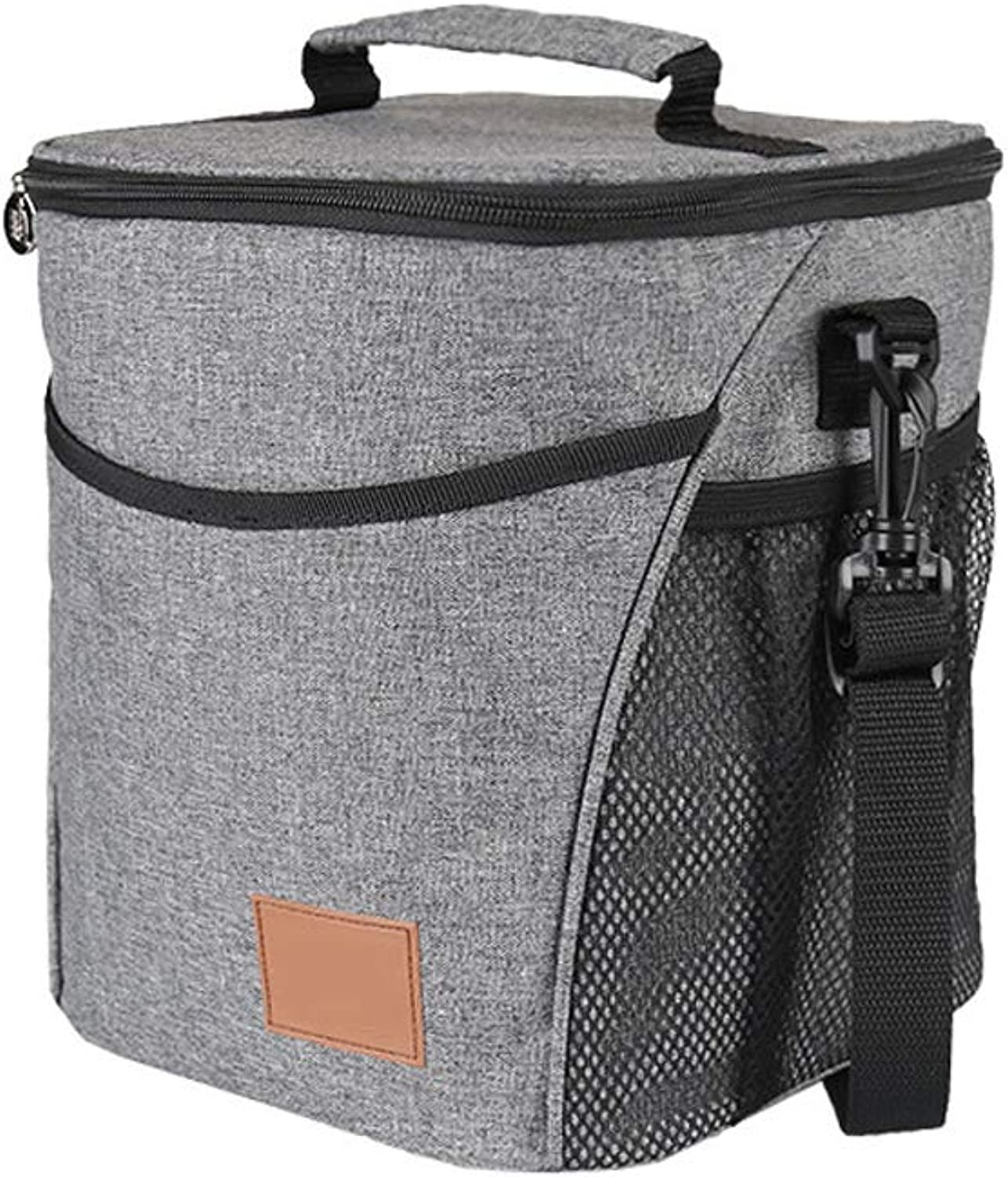 Soft Cooler,SoftSided Collapsible Cooler 9 Liter Insulated Tote Bag Great for Picnics, BBQs, Camping, Tailgating & Outdoor Activities