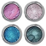 Concrete Minerals Eyeshadow | Longer-Lasting With No Creasing | 100% Vegan and Cruelty Free | Handmade in USA (Mermaid)