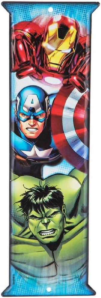 Metal WALL LETTER Sign SUPERHERO Marvel DC Comics A B C Avengers Guardians