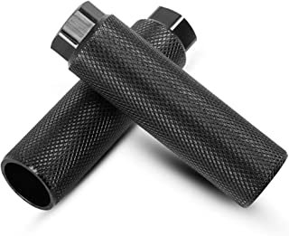 minghaoyuan Repose-pieds en aluminium antidérapant pour vélo BMX - Pédales arrière pour BMX - Accessoires de cyclisme - Ch...