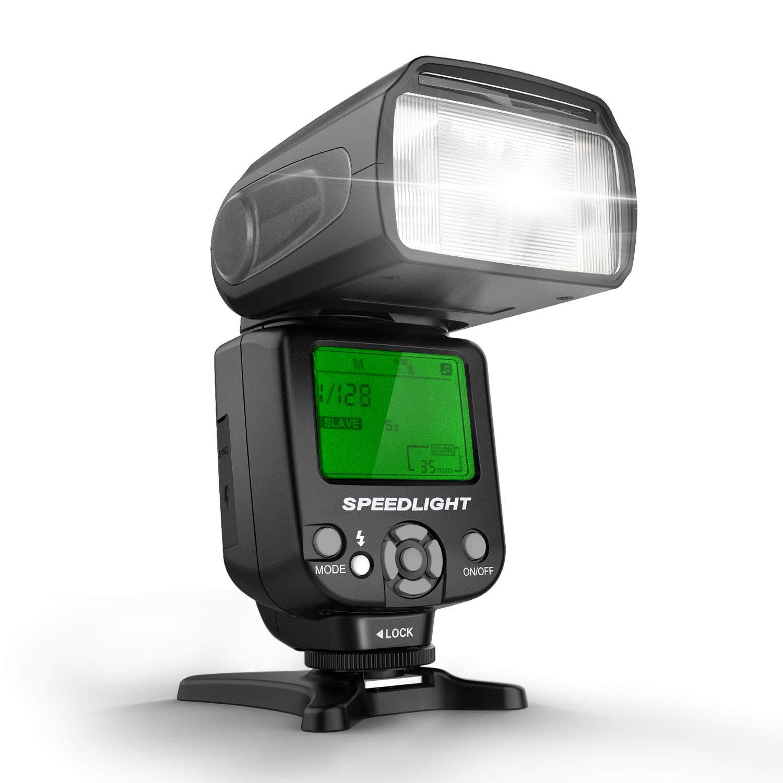 GEEKOTO Speedlite Off Camera Monolight Standard