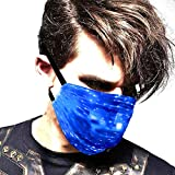 Led Rave Mask Light Up Mask Glowing 7 Colors Luminous Costumes Party Christmas Halloween for Men Women Childs Face Mask