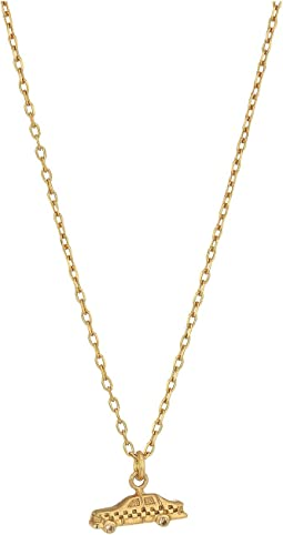 Marc Jacobs - Something Special Taxi Pendant Necklace