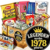 Legenden 1978 + Zum Geburtstag Geschenkset + DDR Schoko - Geschenk