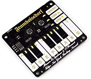 PIM095 - Development Board, Piano HAT For Raspberry Pi, 1 Octave Touch Keyboard (Pack of 2) (PIM095)