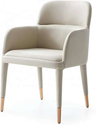 Benjara Leatherette Armchair with Horizontal Channel Tufted Curved Back, Cream