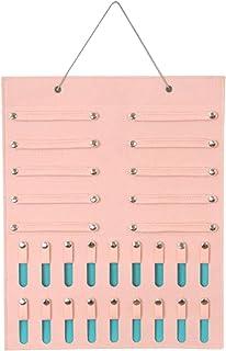 MOVKZACV Support de bandeau pour bébé - Organisateur d'accessoires de cheveux à suspendre - Poche murale pour économiser d...