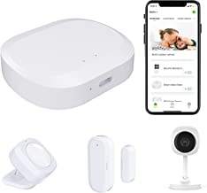 4 Piece Wireless Home Security System,WiFi Alarm Home Security kit - 24/7 Professional Home Safeguard